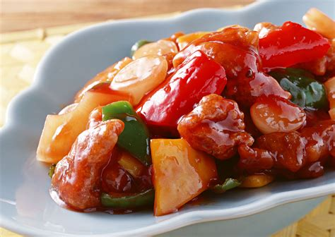 sweet and sour pork sweet and sour pork with pineapple