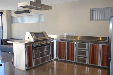 metal outdoor kitchen cabinets custom stainless steel kitchens barbecue bazaar 7472