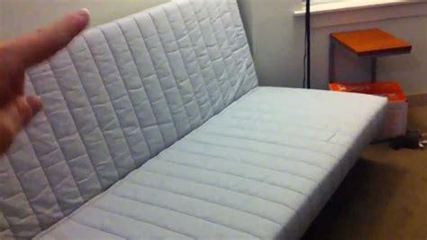 reassemble  ikea beddinge futon youtube