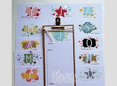 Perpetual Birthday Calendar stampin up Cards and Stuff