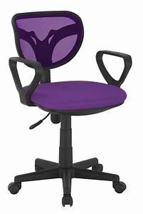 Chaise De Bureau : chaise de bureau violet ~ Teatrodelosmanantiales.com Idées de Décoration