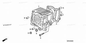 Honda Motorcycle 2006 Oem Parts Diagram For Cylinder