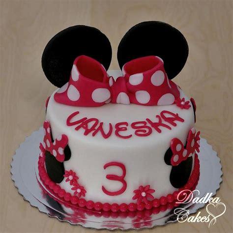 minnie mouse cake cake  dadka cakes cakesdecor