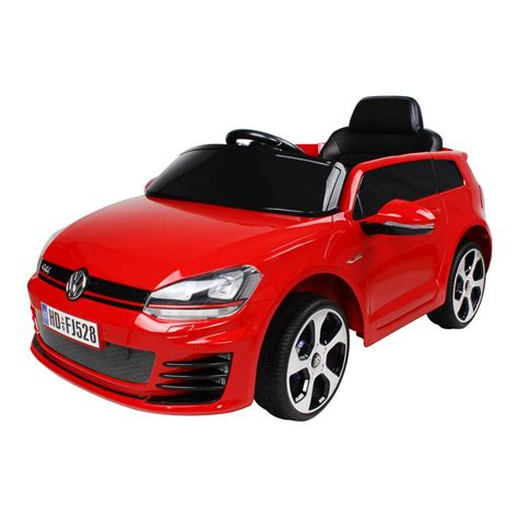 ride on car vw gti kids electric ride on car red
