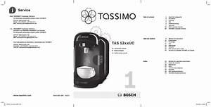 Bosch Tassimo T12 Tas1202 User Manual