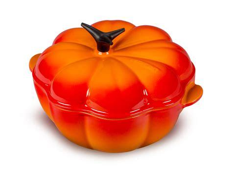 le creuset pumpkin ovens  sale cutlery