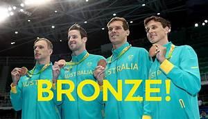 Freestyle relay bronze for Aussie men | AUS Team | Rio 2016
