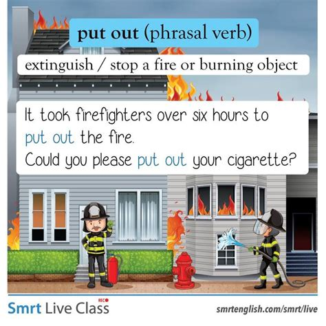 phrasal verb put   images english language