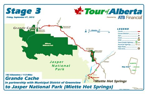 Stage three of the tour of alberta challenged riders to 11 loops around a relatively flat 10.6km circuit in edmonton. Tour of Alberta - Stage 3 - Grande Cache to Jasper   Flickr