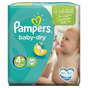 Pampers Baby Dry Size 4 Carry Pack 24pce - SuperValu