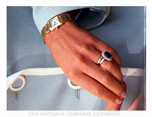 beneath princess diana39s sapphire engagement ring is her With princess diana wedding ring