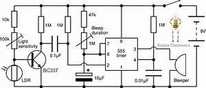 shadow detector alarm rookie electronics electronics With alarm circuit board