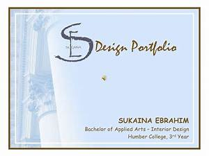 Interior design portfolio for Interior design and decor pdf