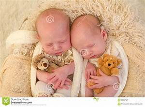 Identical twins with toys stock image. Image of little ...
