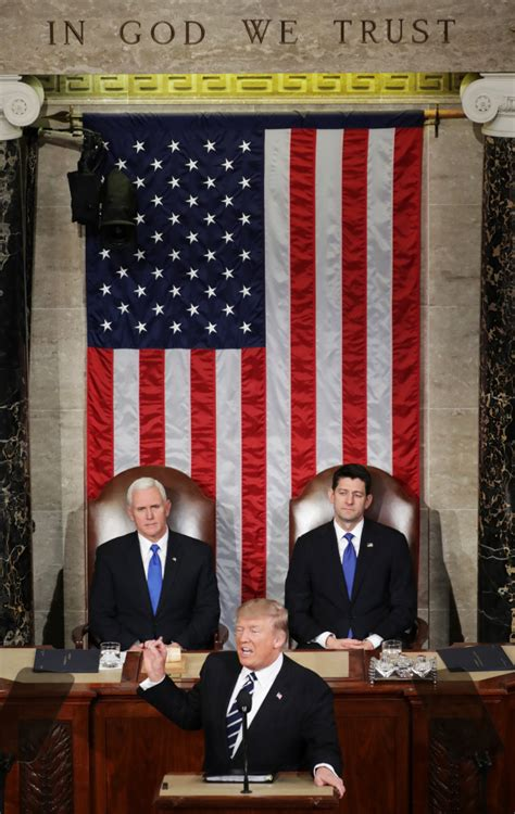 trump address donald congress session joint president delivers