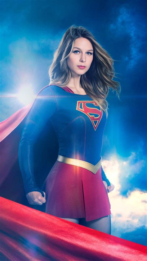 wallpaper supergirl season  melissa benoist tv series