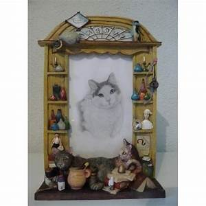 Etagere Cadre Photo : cadre photo chats etageres ~ Teatrodelosmanantiales.com Idées de Décoration