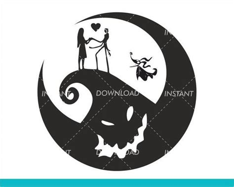 Zero the dog the nightmare before christmas svg, zero the dog svg, cutting files for cricut silhouette, instant download. Jack Skellington SVG Nightmare Before Christmas SVG Jack ...