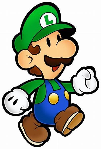 Luigi Mario Paper Super Classic Deviantart 64