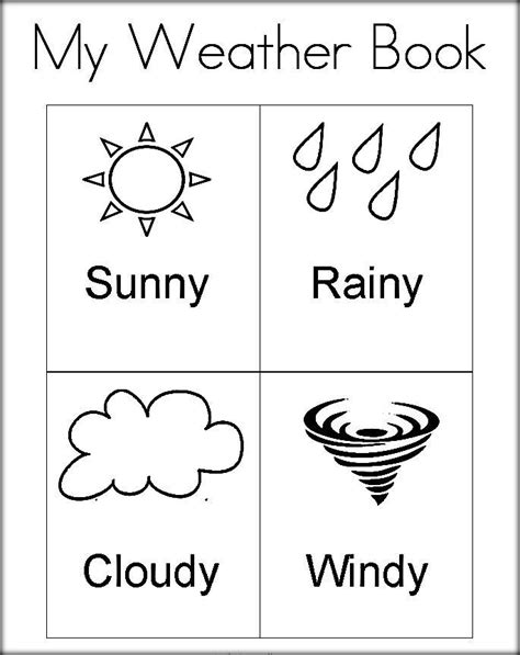 weather color free printable weather coloring pictures for preschool