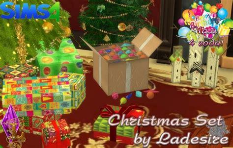 christmas set  ladesire sims  updates