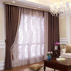 Bedroom or living room chenille blackout curtains drapes for Living room draperies