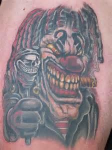 Evil Clown Tattoo Sleeve