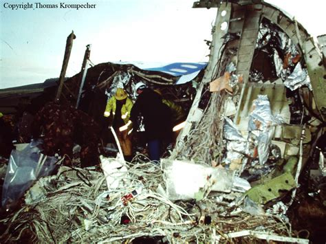 Crash of a Boeing 747-100 in Lockerbie: 270 killed