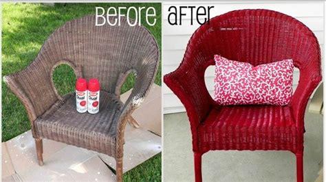 peindre un fauteuil en rotin comment nettoyer et peindre une chaise en osier bricobistro