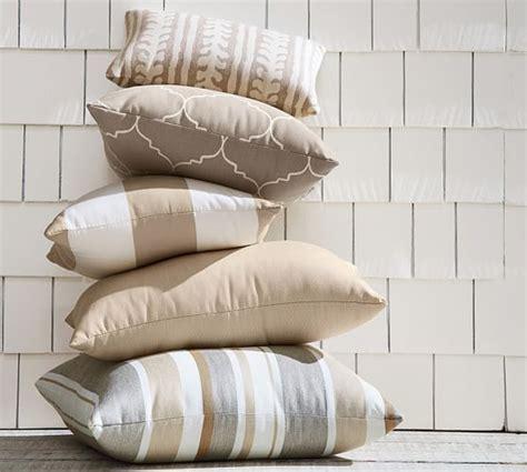 pottery barn outdoor pillows pb classic stripe indoor outdoor pillow pottery barn