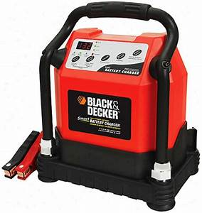 Black  U0026 Decker 40 Amp Smart Battery Charger With 110 Amp