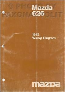 1982 Mazda 626 Repair Shop Manual Original