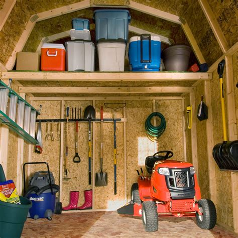 simple resourceful garage shed organization tips