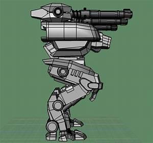 Fury (war robots) - 3d model - .obj
