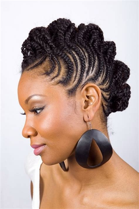 Braided Updo Black Hairstyles by 2015 Black Braided Hairstyles