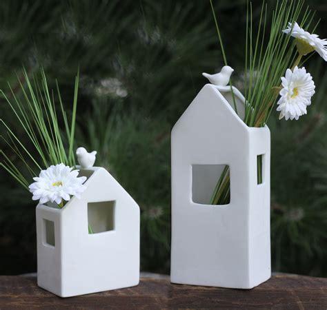 Porzellan Vase  Haus  Deko Blumenvase Pflanzvase