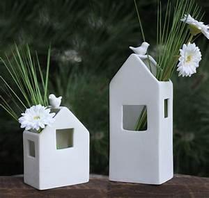 Deko Haus Holz : porzellan vase haus deko blumenvase pflanzvase landhausstil ~ Frokenaadalensverden.com Haus und Dekorationen