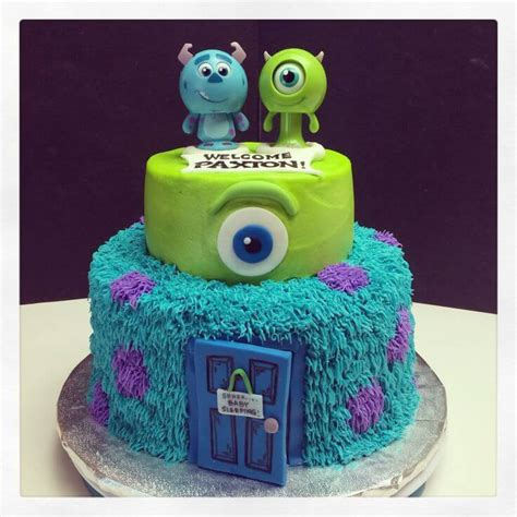 monsters inc cake the best inc baby shower supplies baby