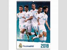 Real Madrid FC A3 Calendar 2018 Calendar Club UK