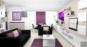Decoration et rajeunissement d39une piece de vie a for Deco cuisine avec chaise cuir blanc salle a manger