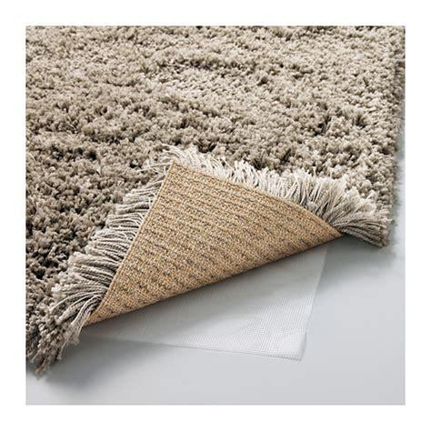 tapis poil beige g 197 ser rug high pile beige 133x195 cm ikea