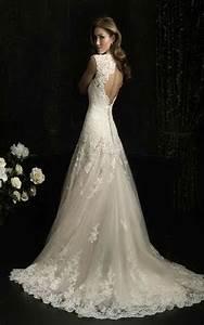 Hochzeitskleid Spitze Rückenfrei : hochzeitskleid mit ~ Frokenaadalensverden.com Haus und Dekorationen