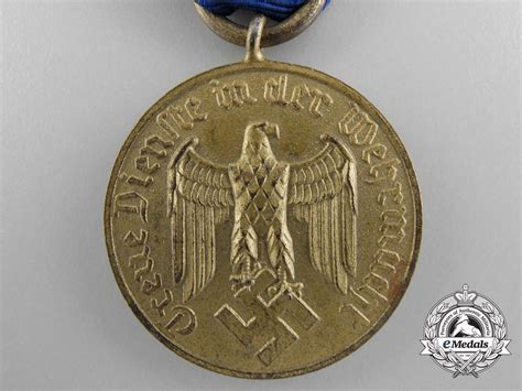 a german army long service decoration 12 years