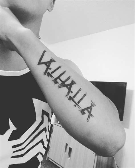 Valhalla tattoo. | Viking tattoos, Nordic tattoo, Norse tattoo