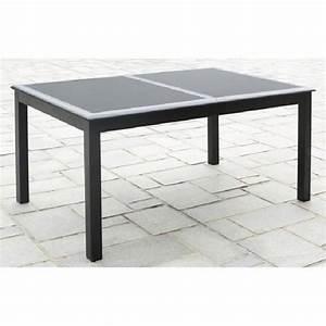Table De Jardin En Aluminium Avec Rallonge : table de jardin en aluminium avec rallonge topiwall ~ Teatrodelosmanantiales.com Idées de Décoration