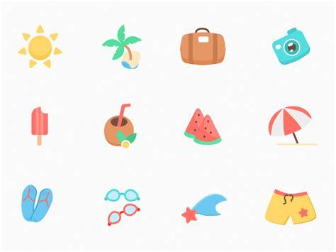 home design free app 12 summer icons sketch freebie free resource