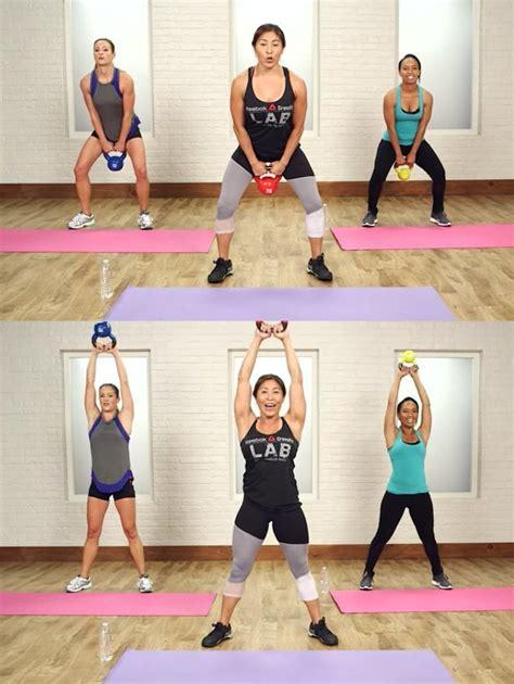 crossfit swing kettlebell swing 40 minute crossfit workout popsugar
