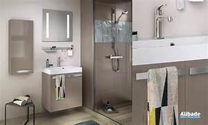 Meuble Salle De Bain Aubade : meuble salle de bain delpha studio 60c espace aubade ~ Dallasstarsshop.com Idées de Décoration