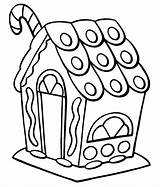 Clipart Gingerbread Coloring Library Clip Pages Colouring Sweet sketch template