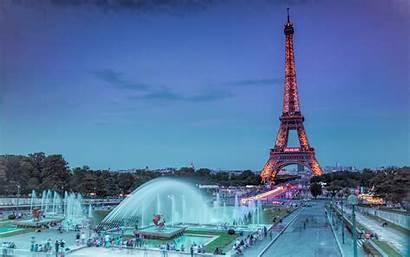 Fountain Paris Tower Eiffel 1080p Mobile Pc